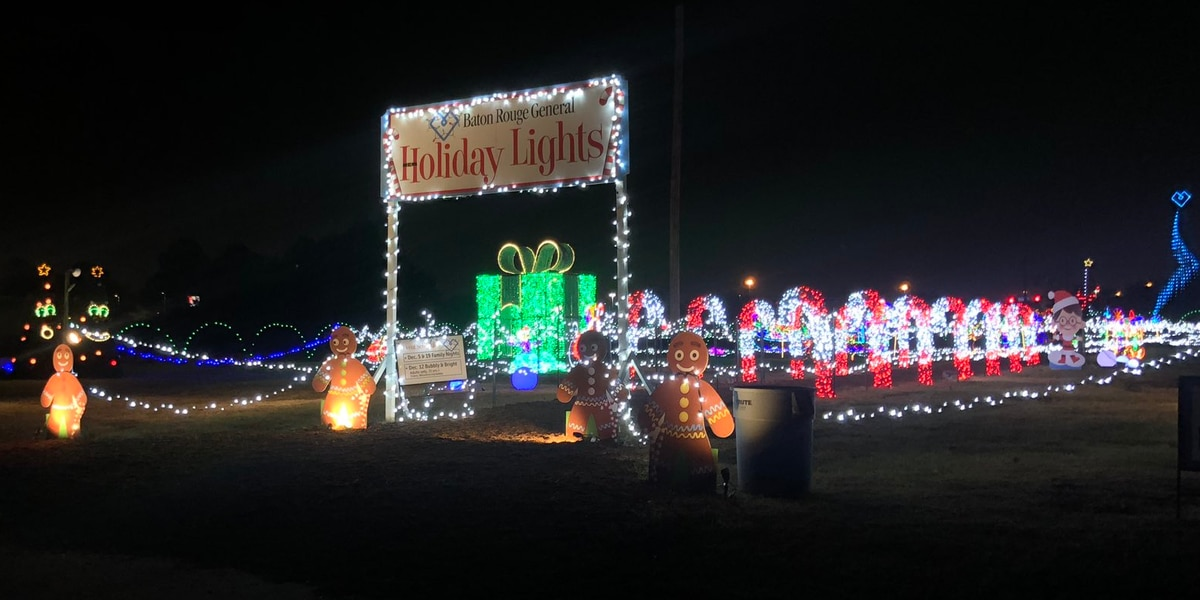 Holiday Lights at Baton Rouge General returns with new event, more lights than ever