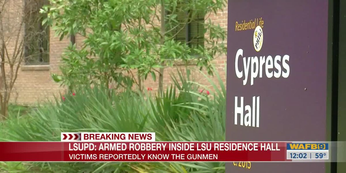 LSUPD: 2 students robbed at gunpoint inside residence hall