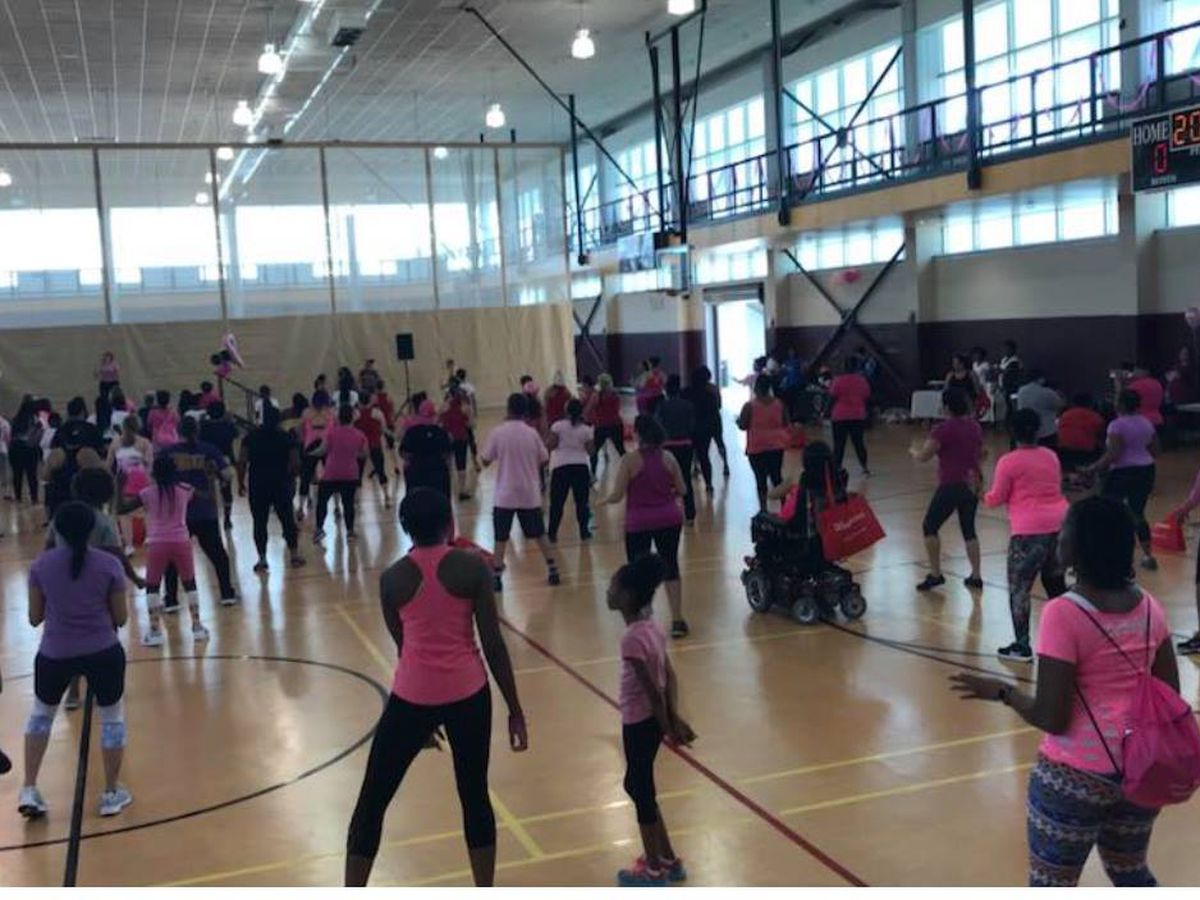 Party in Pink Zumbathon to raise breast cancer awareness