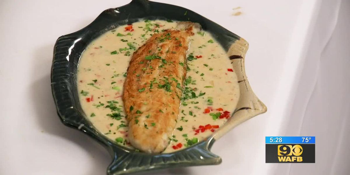 Stirrin' It Up: Fillet of Speckled Trout Prince Murat (March 28, 2019)