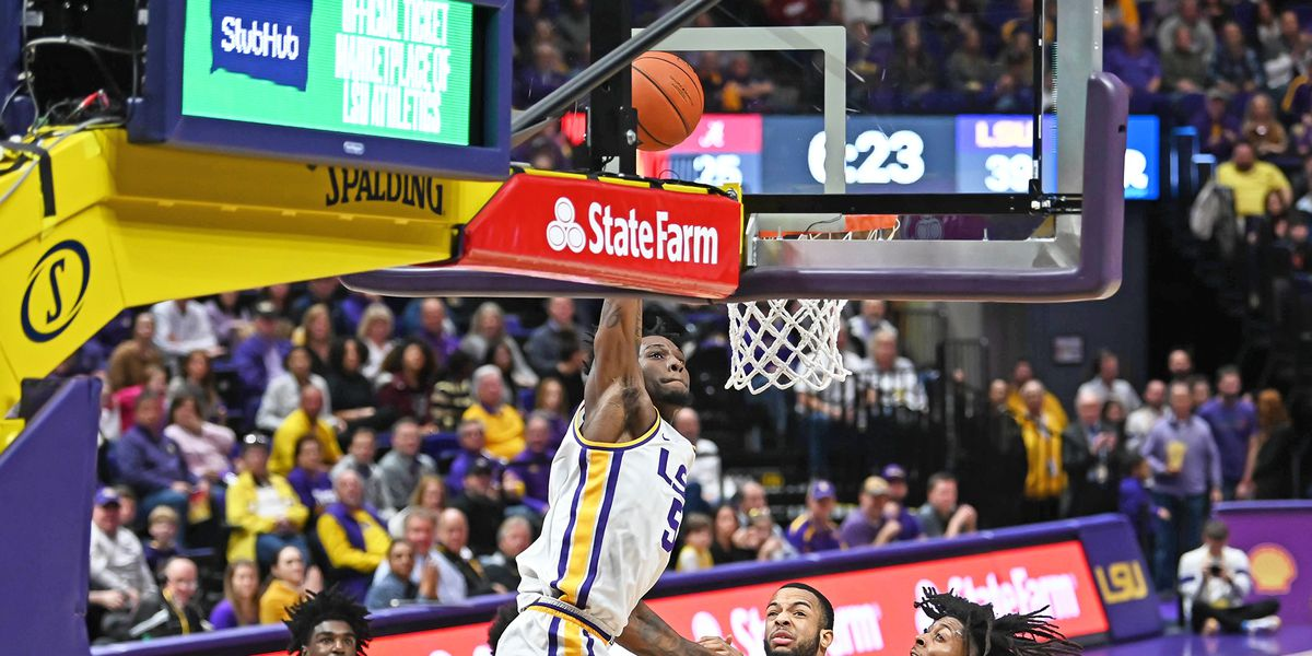 No. 22 LSU soars over Alabama to remain unbeaten in SEC play