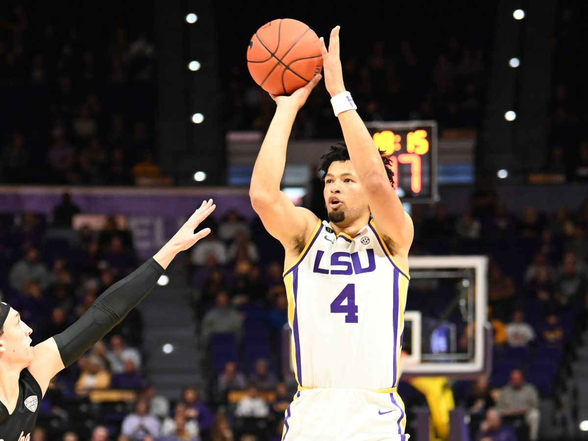 No. 23 LSU prepares to hit the road to face VCU