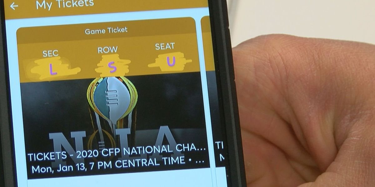 Scamming the Scammer: How an LSU fan turned the tables on someone selling fake tickets