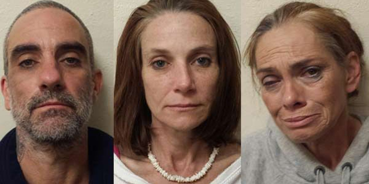 3 arrested after 2 rolling meth labs found in vehicle during traffic stop