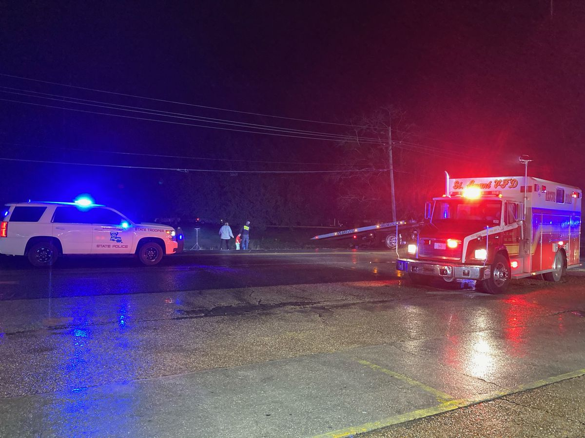 Toddler dies day after vehicle became submerged in crash in Ascension Parish