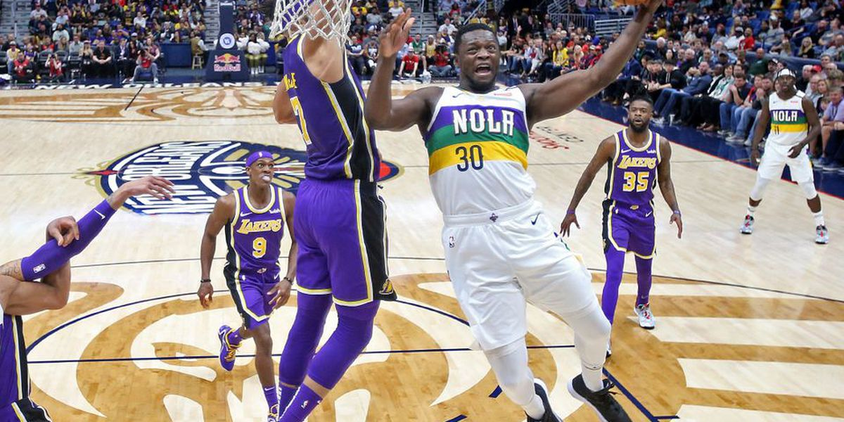 Total team effort by the Pelicans overwhelms the Lakers