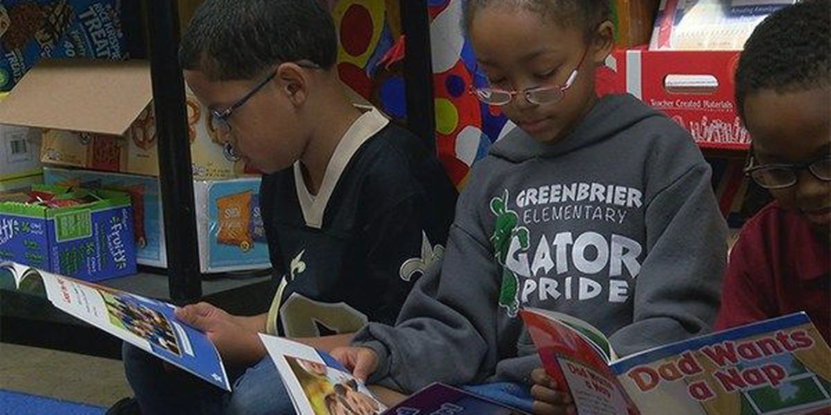Over 1,000 books donated to Greenbrier Elementary