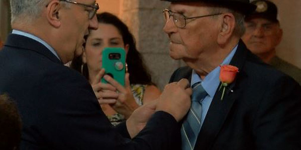 French ambassador bestows Legion of Honor on Jennings WWII hero