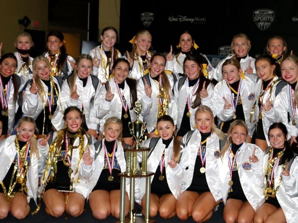 Live Oak cheerleaders win national championships