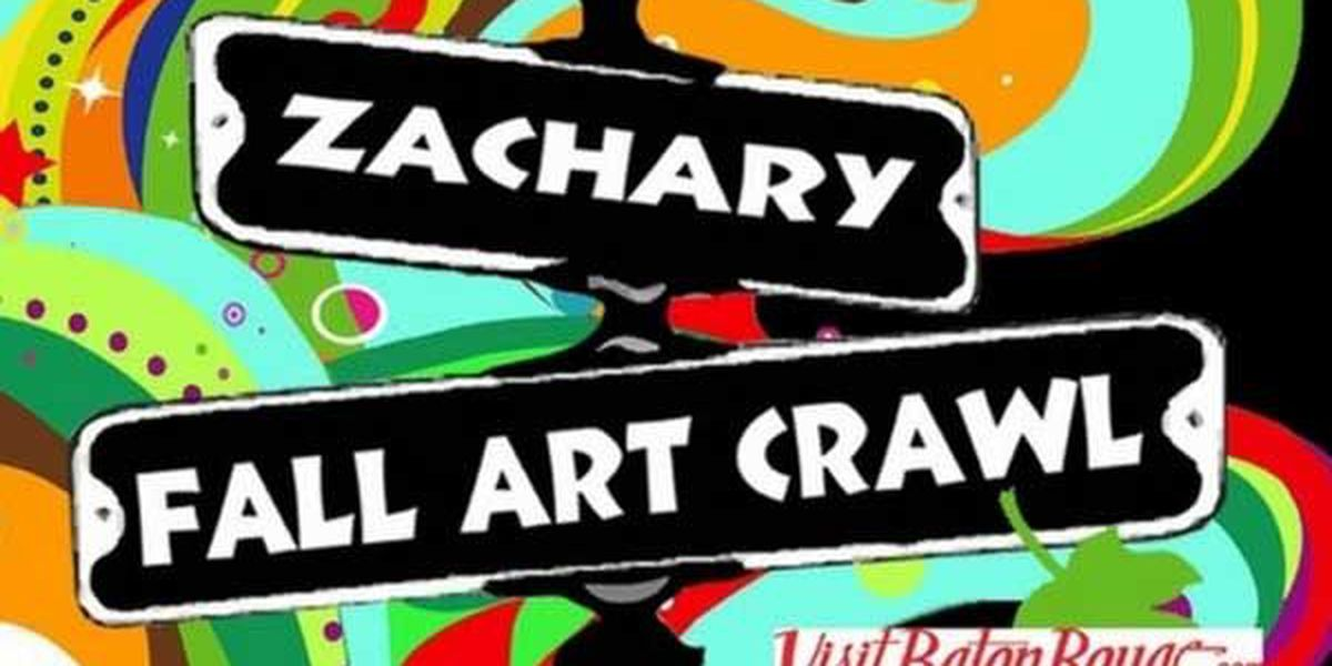 Zachary businesses host artists for annual Fall Art Crawl