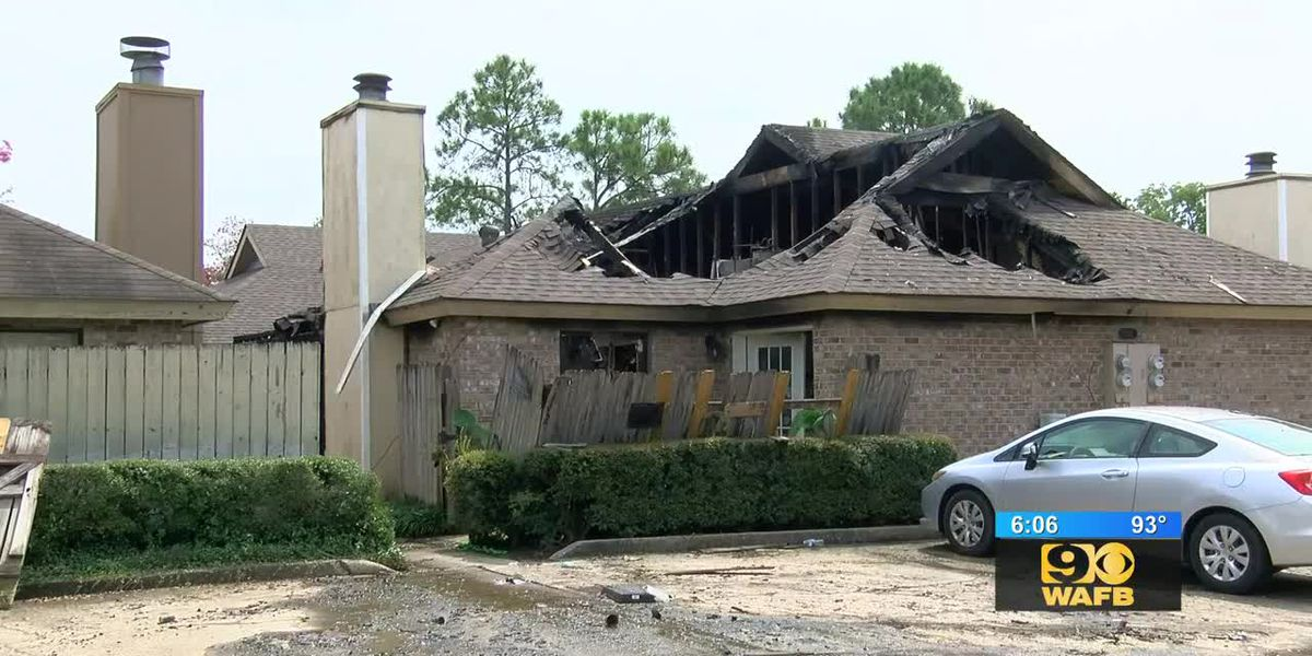 Baton Rouge couple saved from fire