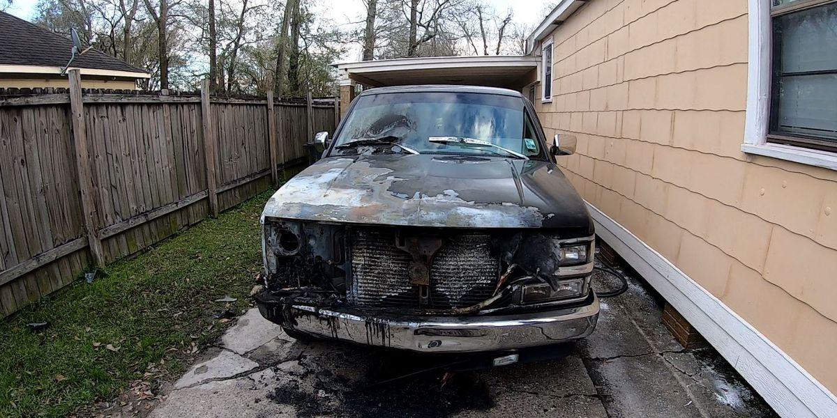 Owner of truck burned in alleged arson says it could've been a lot worse