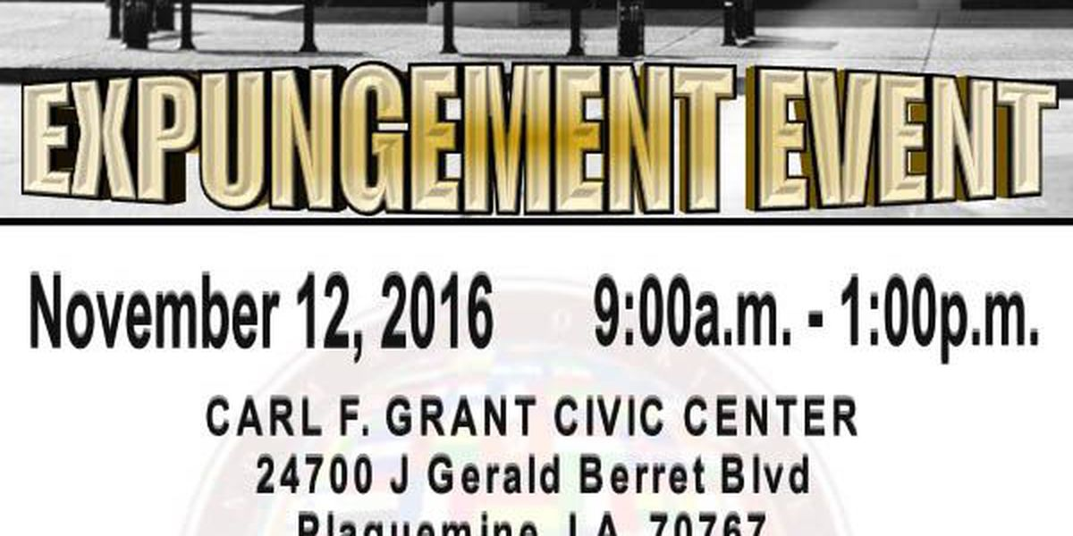 Expungement event seeks to give hope to those with prior criminal record