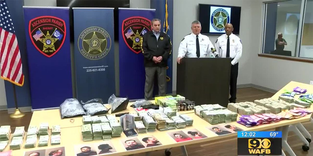 5 arrested after La. authorities seize THC-filled pens and drug-infused candies in $600k+ drug bust