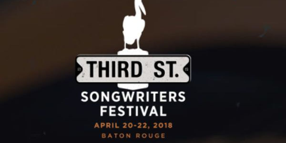 Third Street Songwriter's Festival 2018 lineup