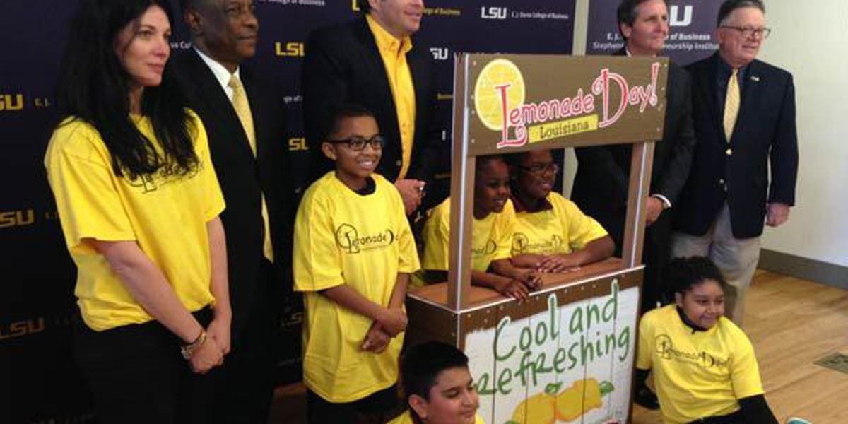 Lemonade Day looks to give kids interactive business starting experience