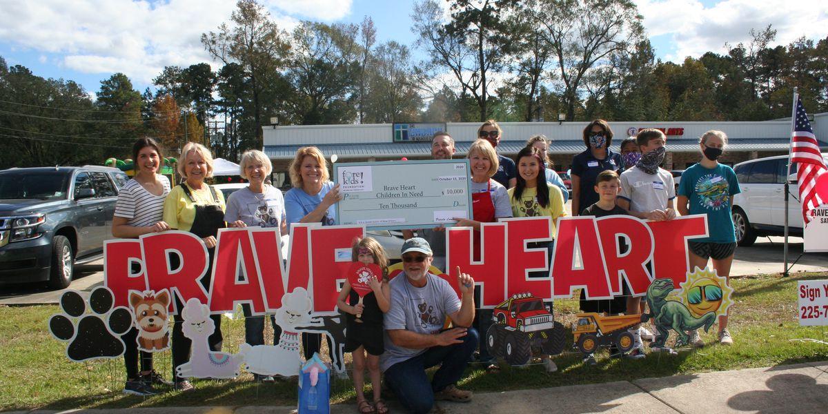 Brave Heart La. holding fundraiser for children in need