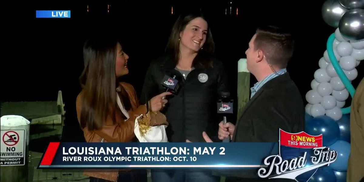 9News This Morning Road Trip: River Roux Olympic Triathlon