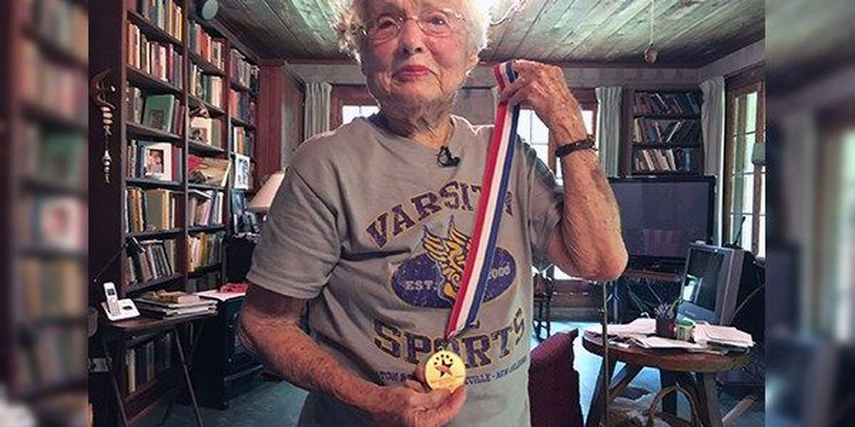 101-year-old Baton Rouge woman to compete in National Senior Olympics