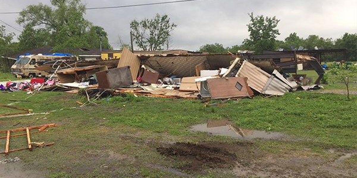 NWS confirms 17 tornadoes in Louisiana during April storms