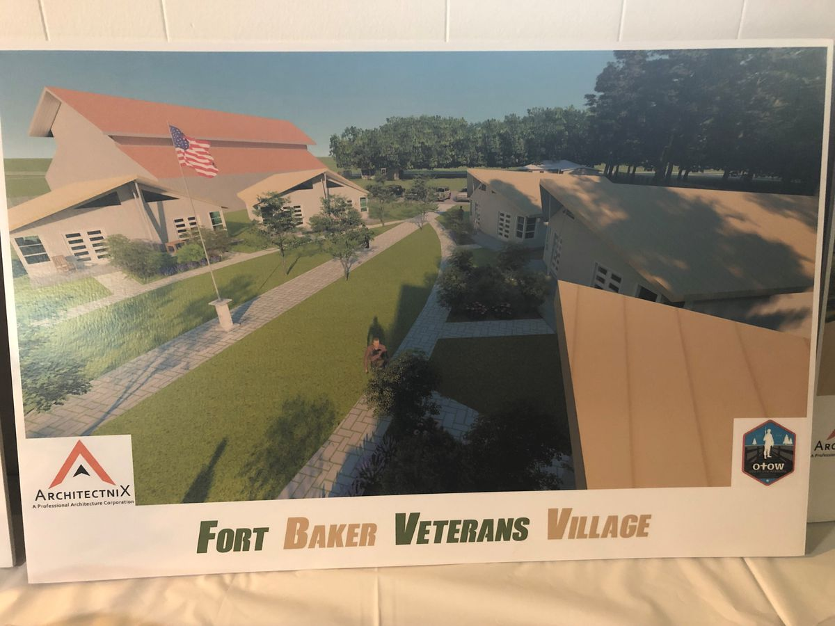 Non-profit group expanding, needs donations to build homes for veterans