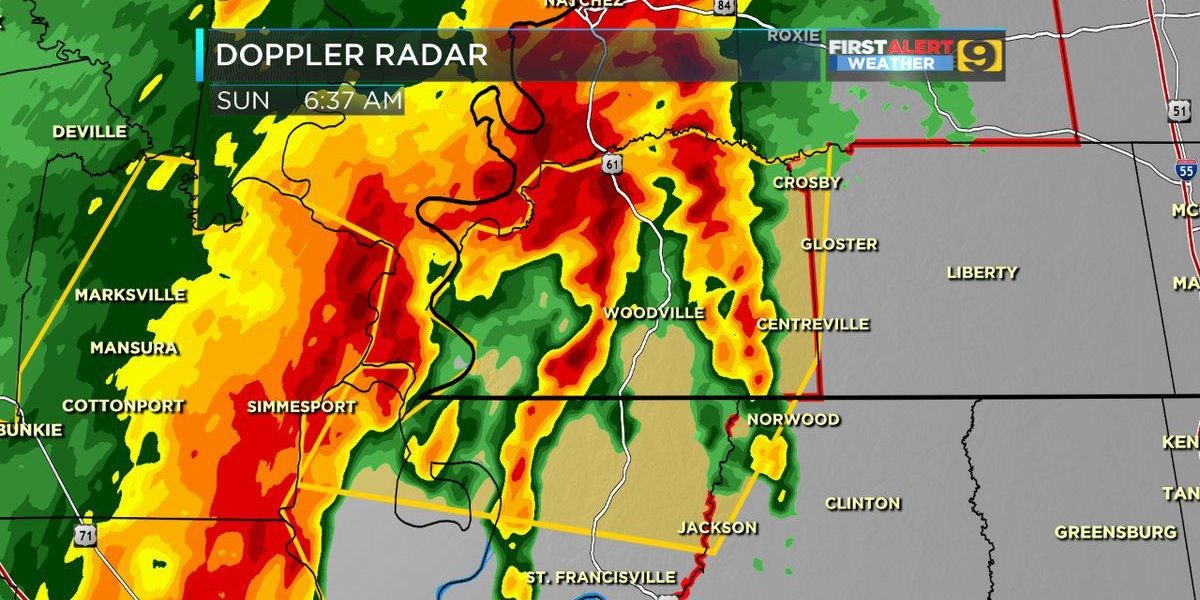 FIRST ALERT WEATHER: Severe weather updates and outages for April 30