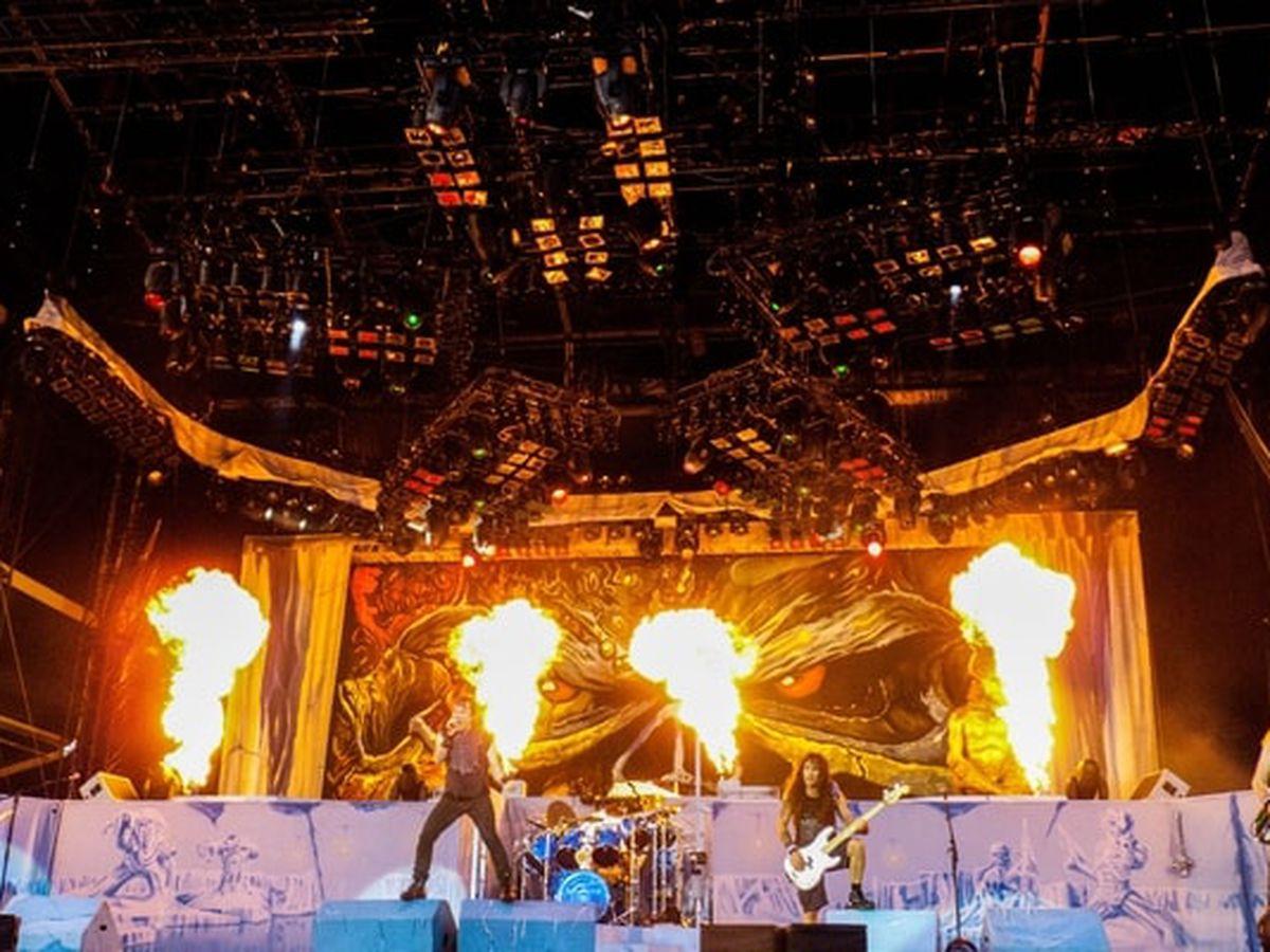 Rock 'n' roll: Heavy metal fans help man in wheelchair crowd surf