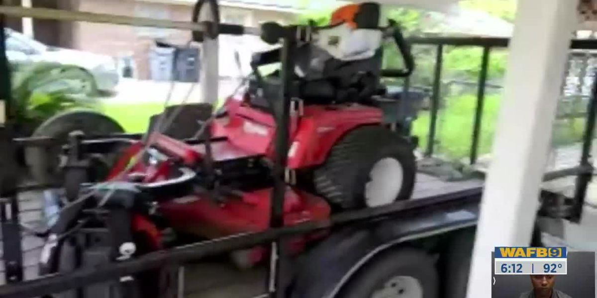 ACTION JACKSON: Man warns other residents after thousands of dollars in lawn equipment stolen from him