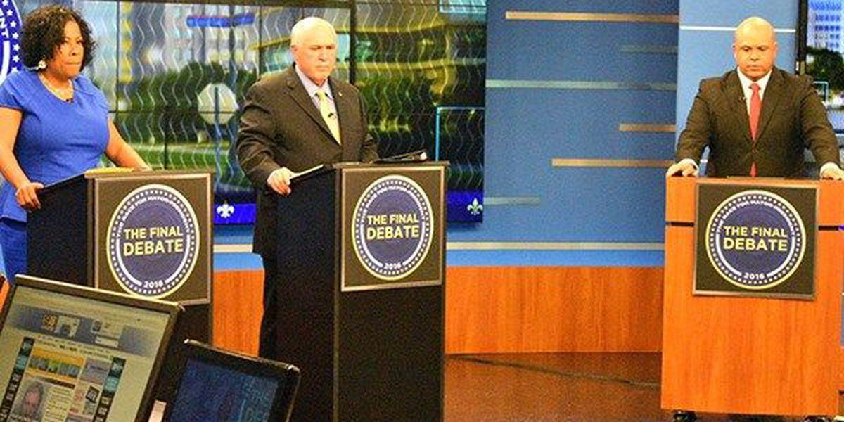 Candidates for EBR mayor-president butt heads in final debate
