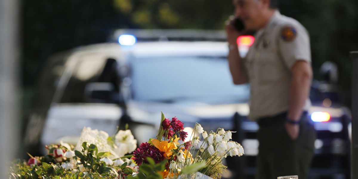 Official: Gunman apparently stopped shooting to post online