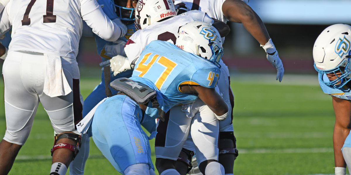 Odums talks about Southern's defense as practice gets underway for spring football season
