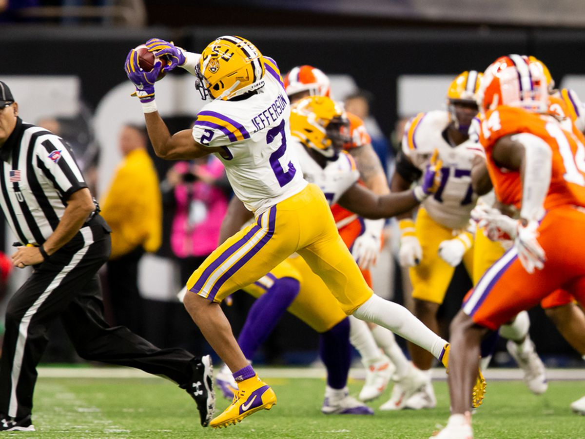 16 LSU Tigers invited to 2020 NFL Combine