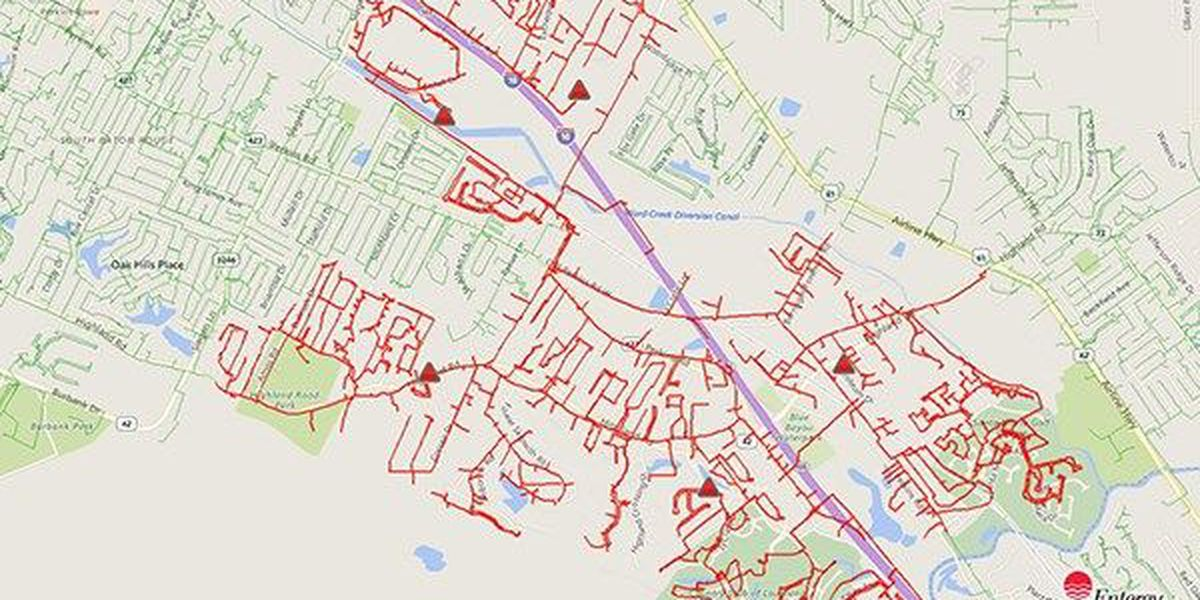 Power outage in Baton Rouge affects thousands