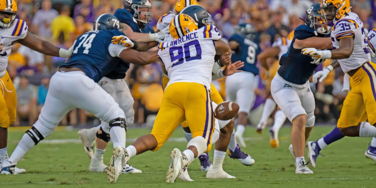 Orgeron wants No. 6 LSU to do its talking to No. 9 Texas on the field