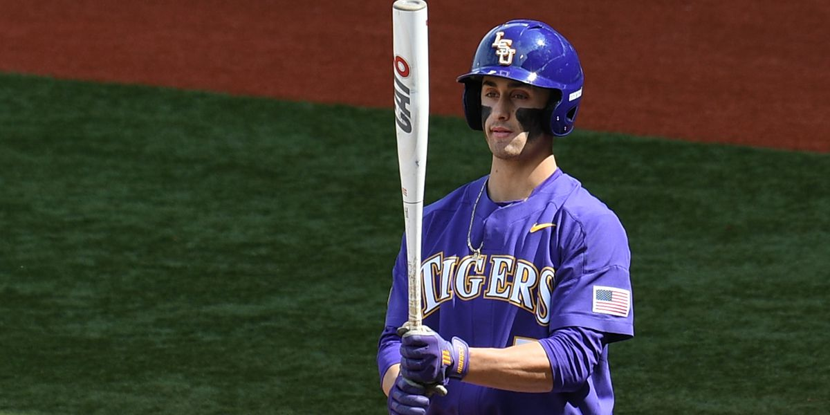 Center fielder Giovanni DiGiacomo named Louisiana Player of the Week