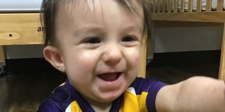 WHY YOU SHOULD DONATE: 10-month-old boy relies on regular blood transfusions to live