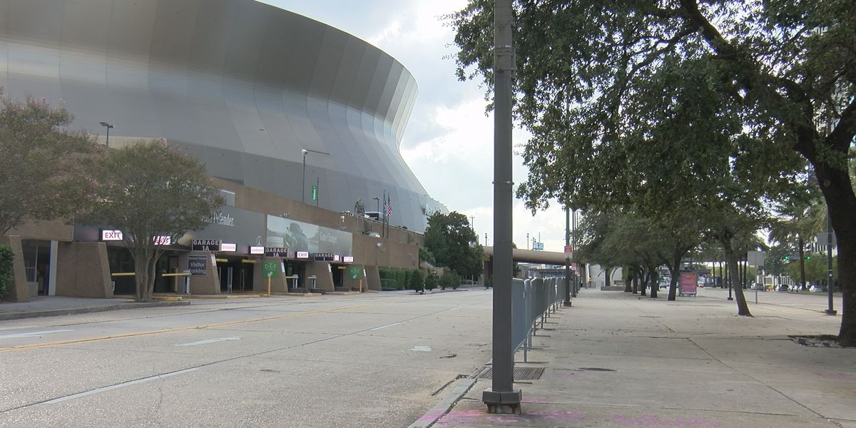 Continued disappointment for fans, businesses after another no-fans Saints home game