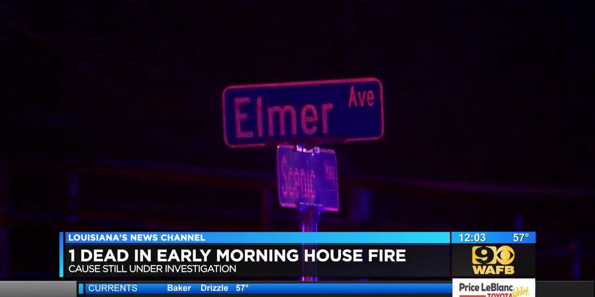 1 dead, 5 rescued in house fire on Elmer Avenue