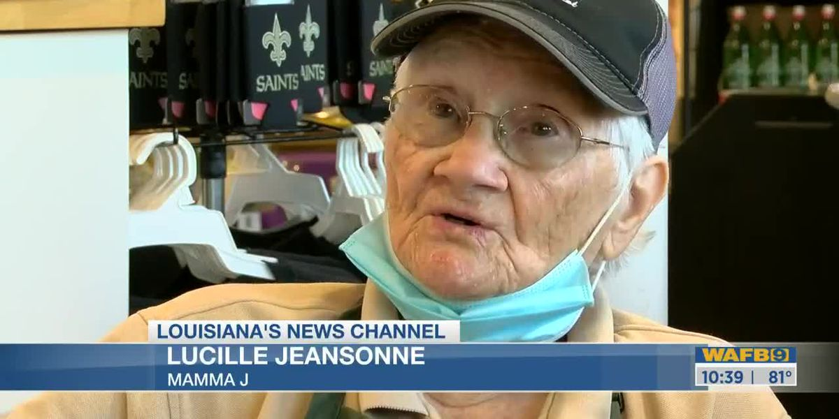 SHOWCASING LOUISIANA: 94-year-old woman works through pandemic at Baton Rouge grocery store