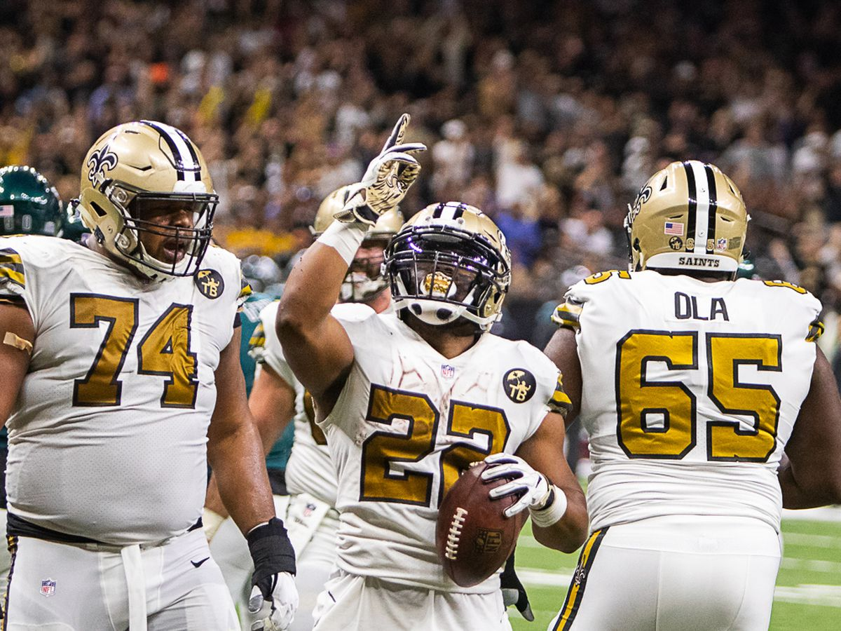 Saints nominate Mark Ingram for the Walter Payton Man of the Year award