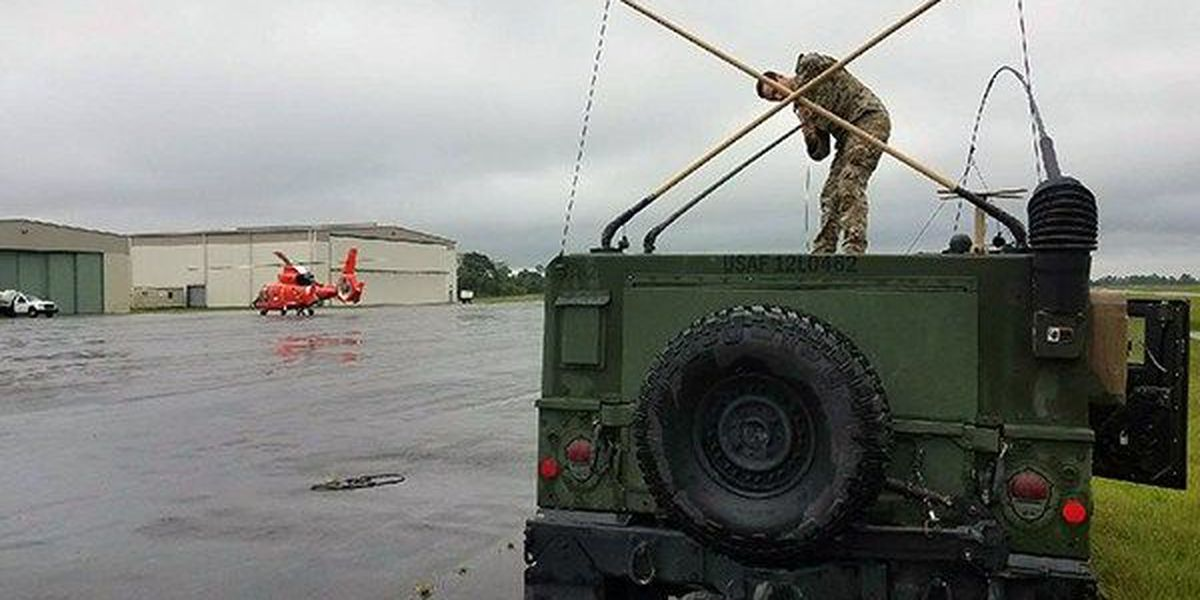 La. National Guard continues to assist with rescues in Texas after Harvey