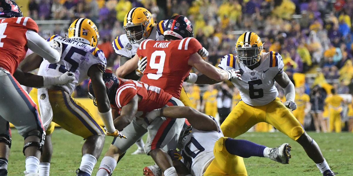 SEC Week 5: TV Schedule and Kickoff Times