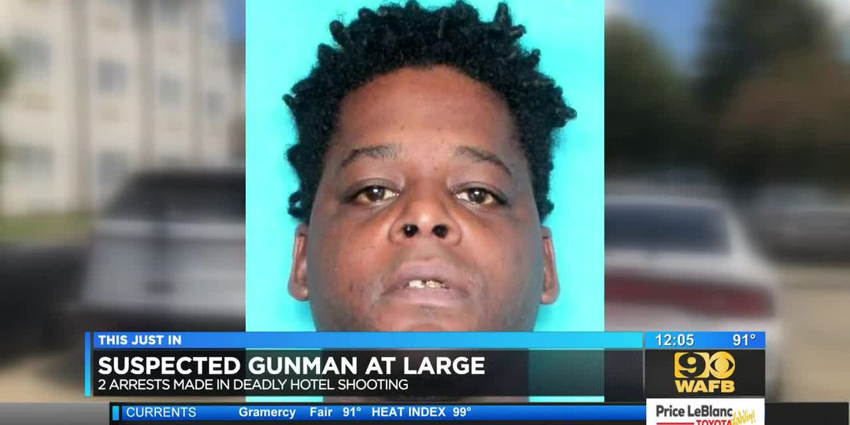 2 arrested in deadly hotel shooting: Suspected gunman still at large