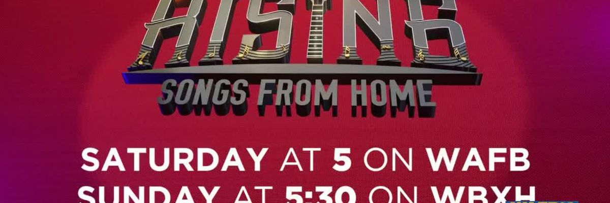 WAFB to air Louisiana Rising: Songs from Home concert series Saturday and Sunday for next three weekends