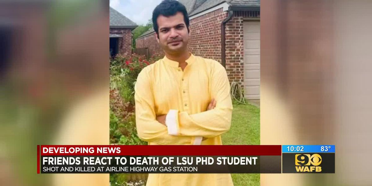 Friends react to death of LSU PhD Student