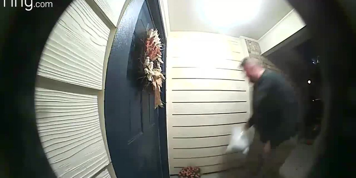 SURVEILLANCE VIDEO: Man wanted for stealing package from home in Gonzales