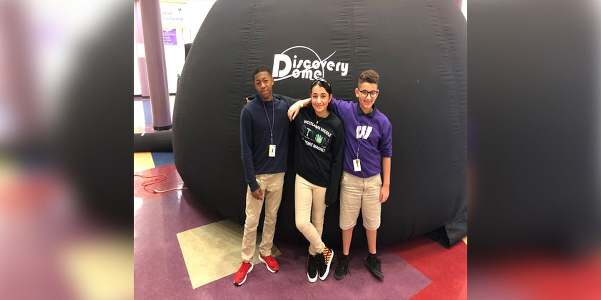 Discovery Dome teaches Baton Rouge students about possible life on other planets