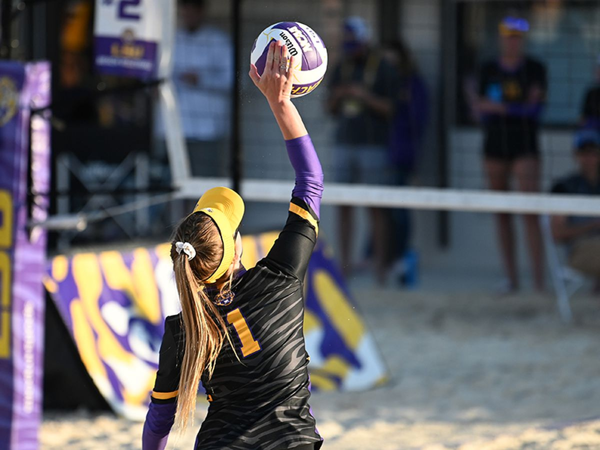 For second straight week, LSU beach volleyball remains No. 1