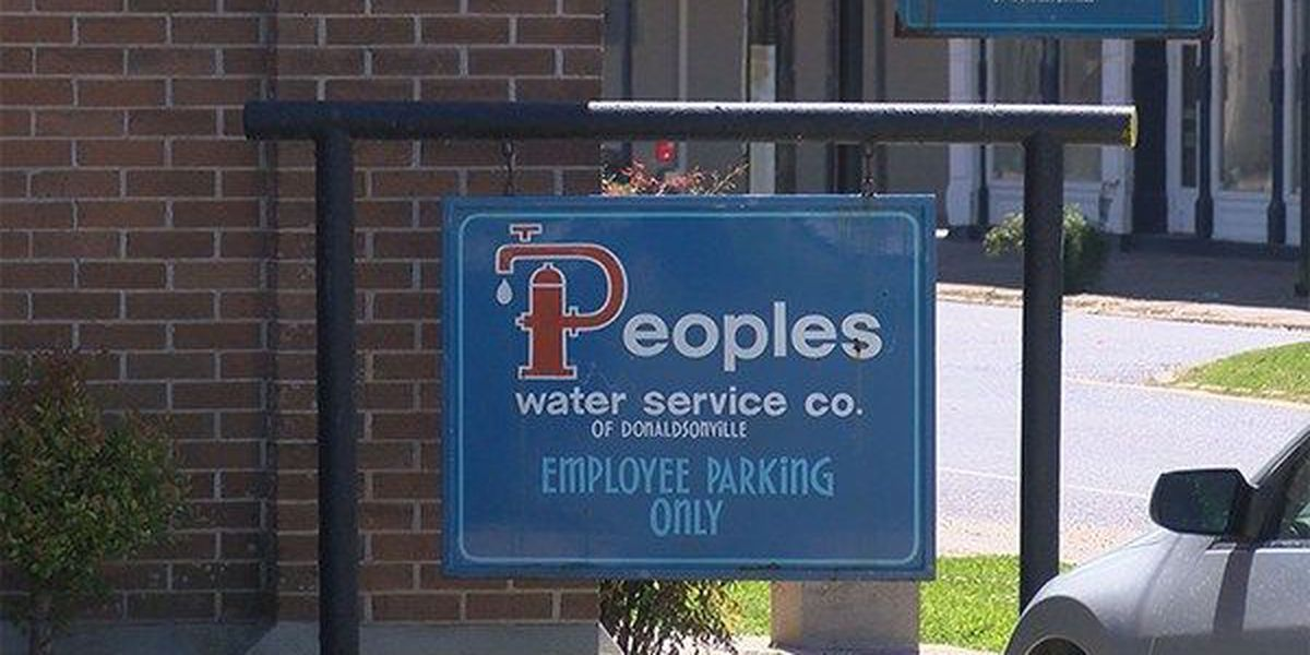 Peoples Water Company responds to violations notice from DHH