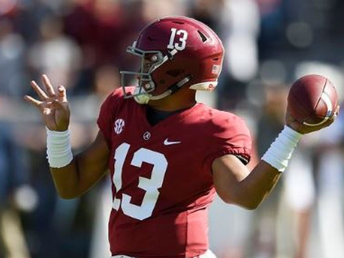 Alabama QB Tagovailoa knocked out of Mississippi State game